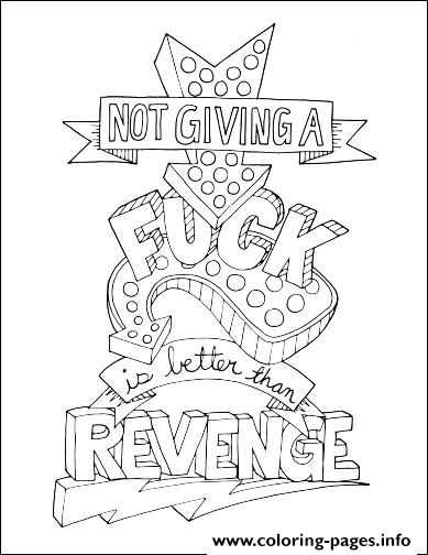 quotes word make life your bitch swear word revenge coloring pages - Make Coloring Pages