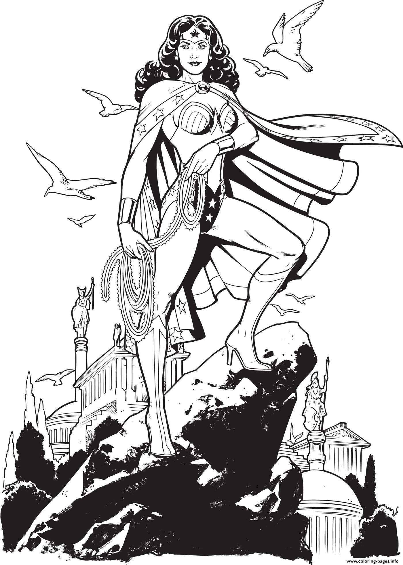 Wonder Woman 2017 Au Sommet De La Coline Dc Comics