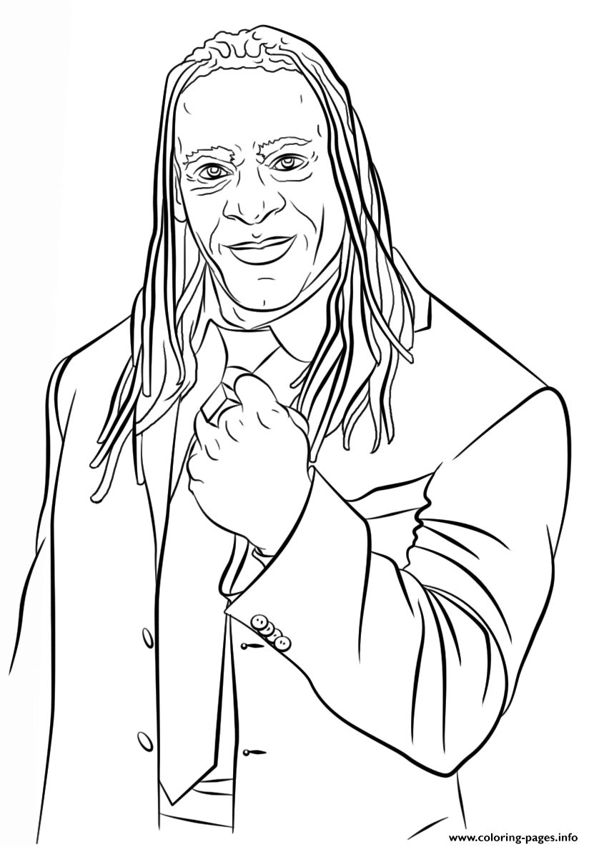 WWE Coloring Pages Free Printable | 1186x824