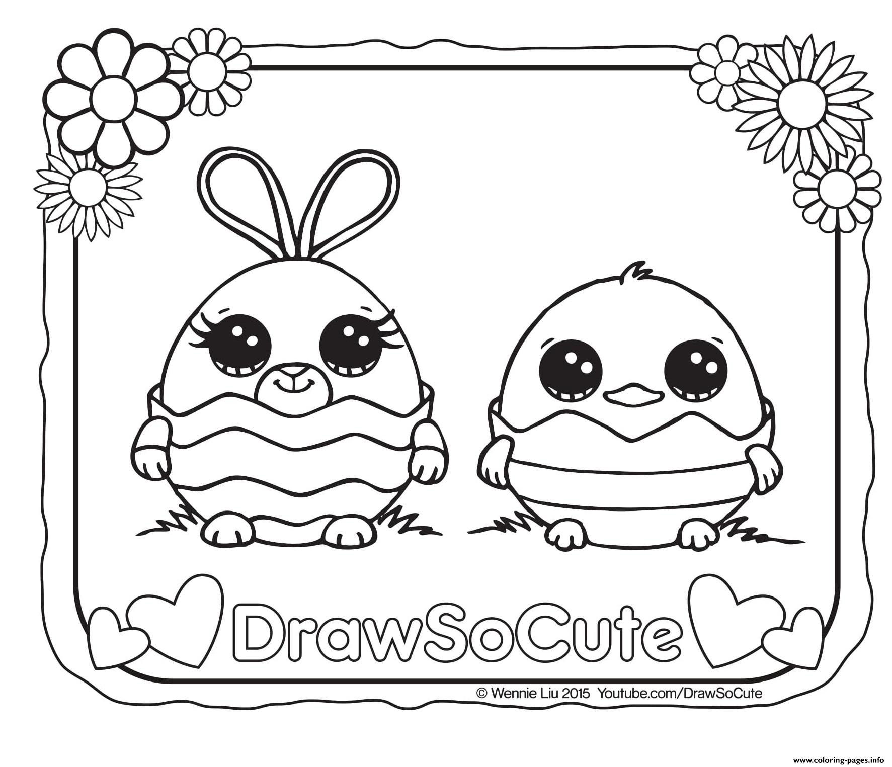 470 Coloring Pages Draw So Cute For Free