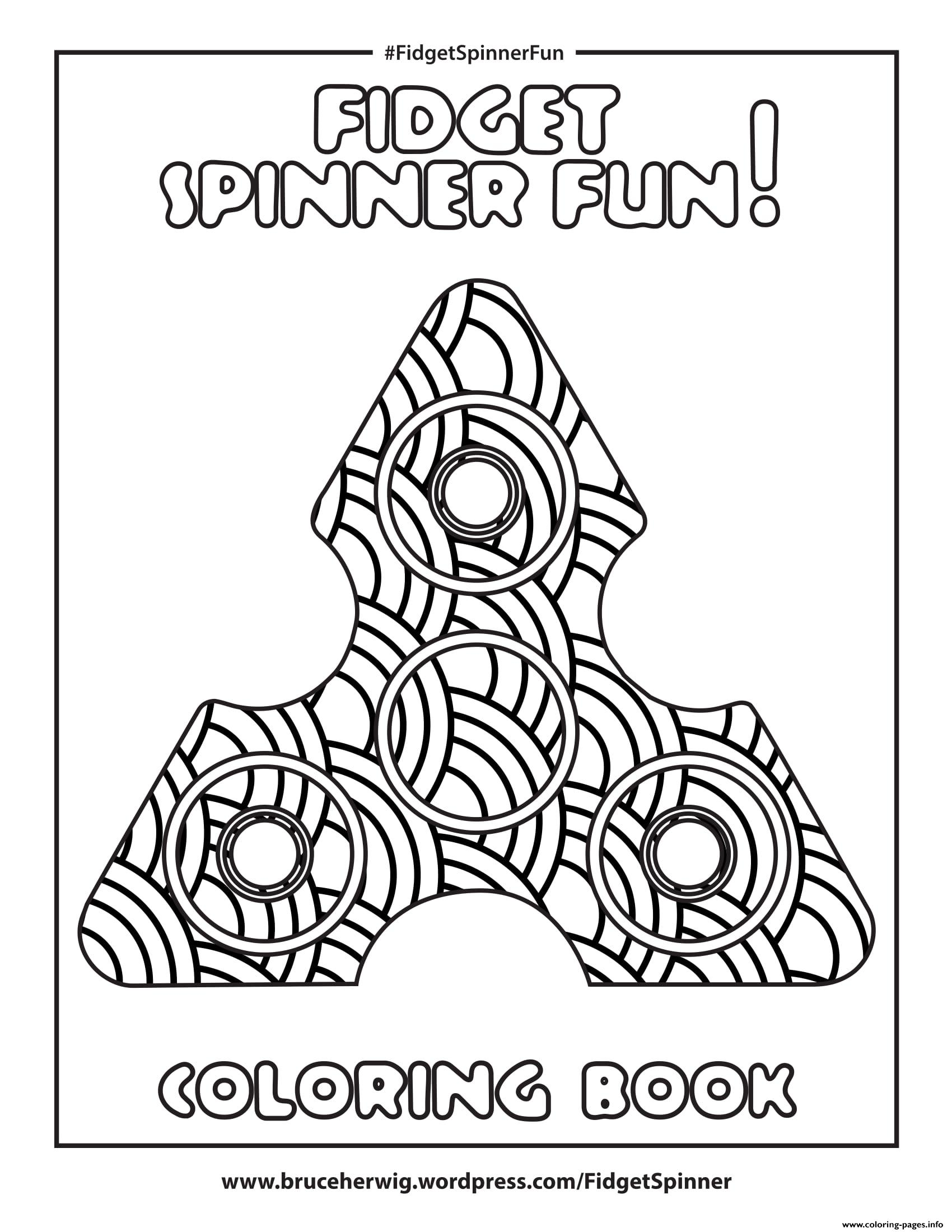 fidget spinner fun bonus mandala coloring pages printable