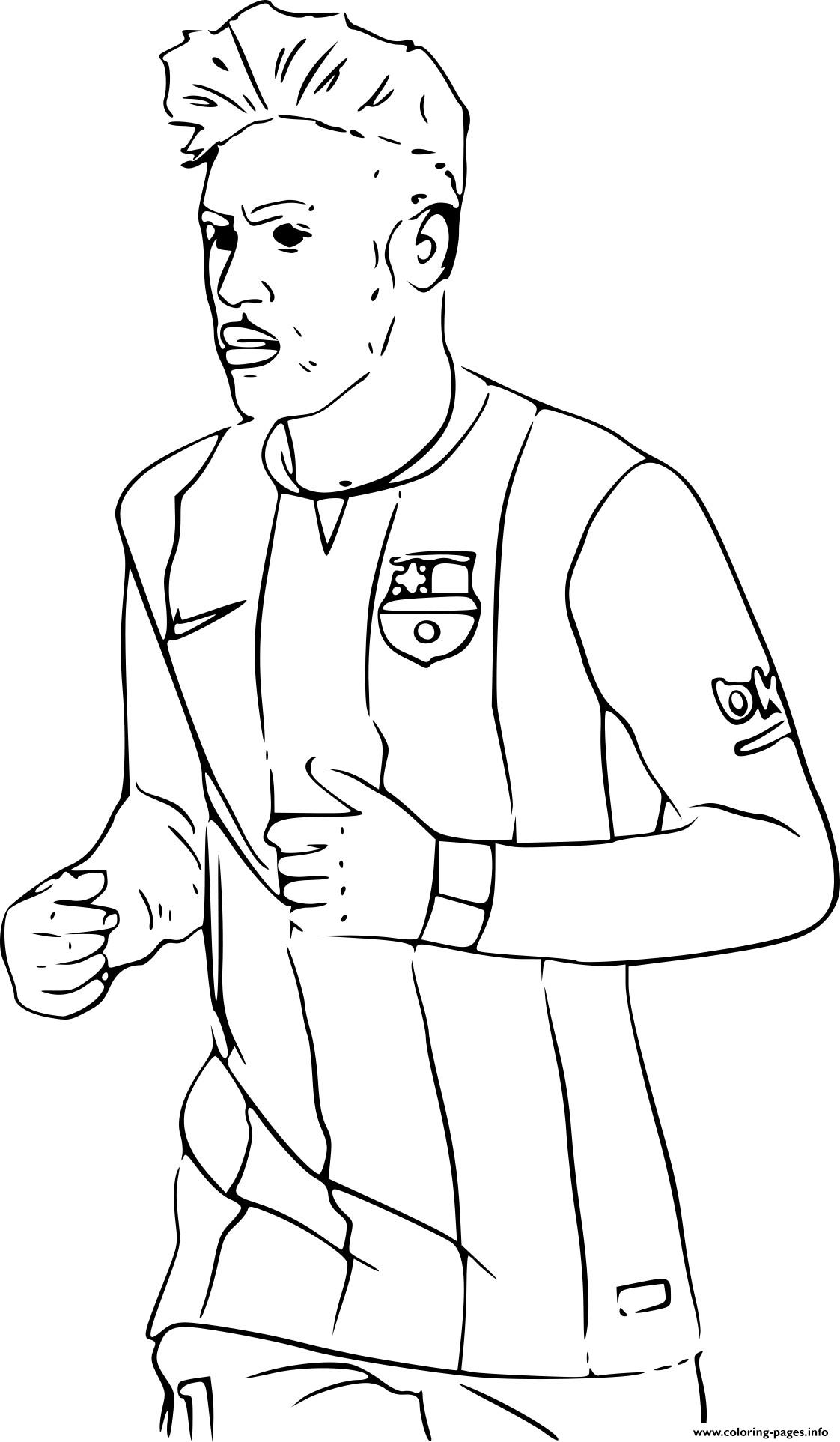 Messi Coloring Pages – Mcoloring | 1925x1122
