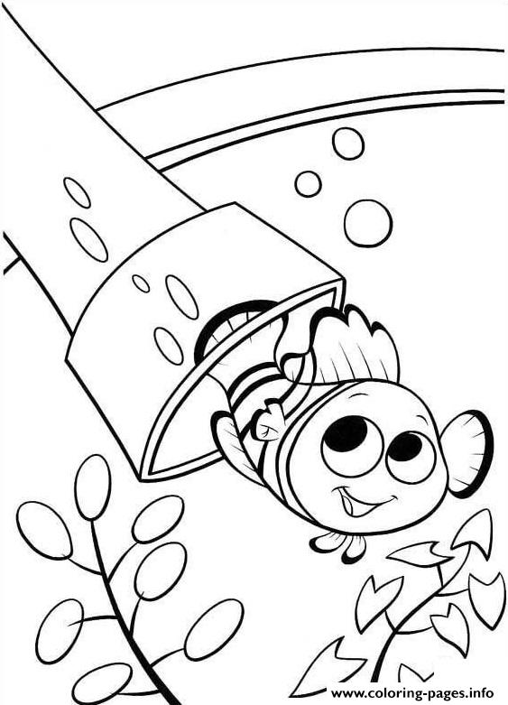 Swim Out Finding Nemo Coloring Pages Printable
