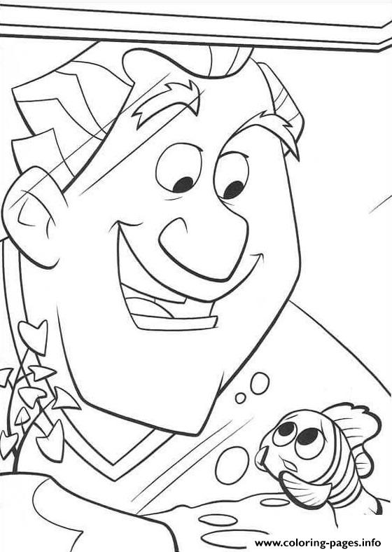 The Doctor And Nemo Finding Nemo Coloring Pages Printable