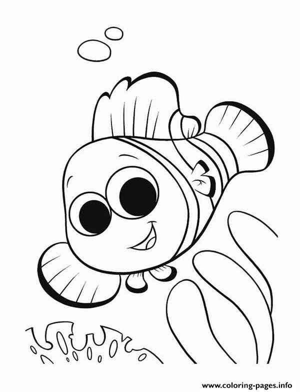Finding Nemo Ocean Crafts coloring pages