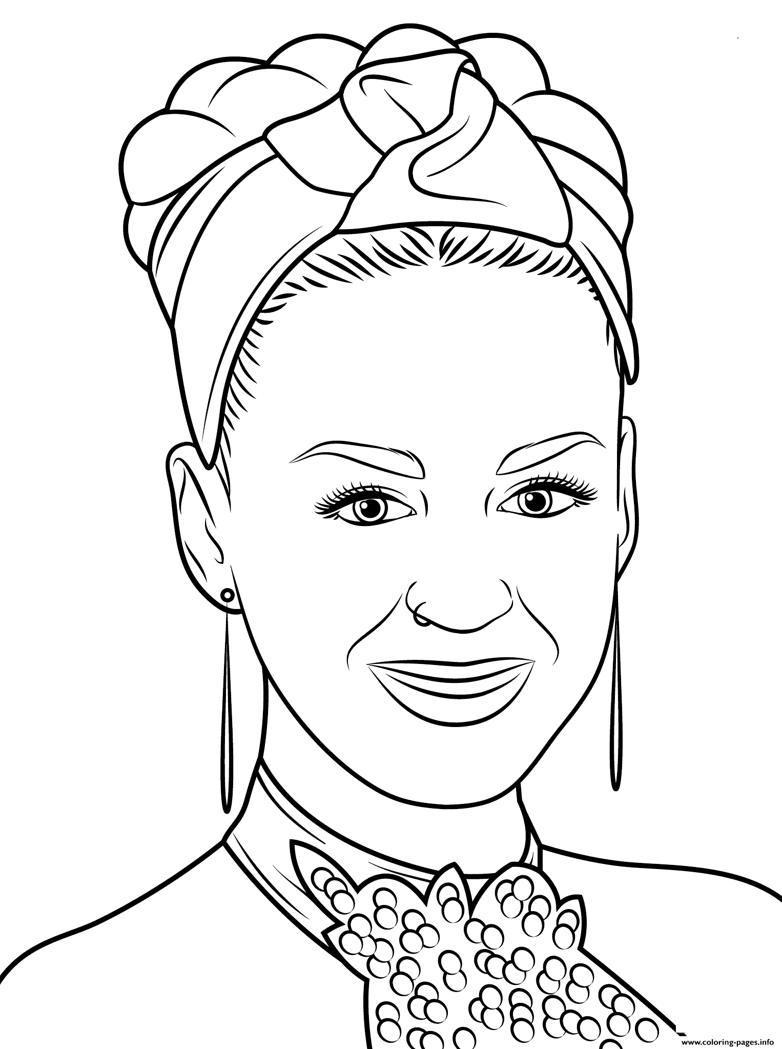 Katy Perry Celebrity Coloring Pages Printable