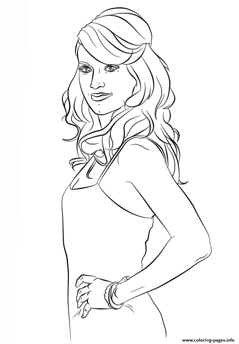 Carrie Underwood Celebrity Coloring Pages Printable