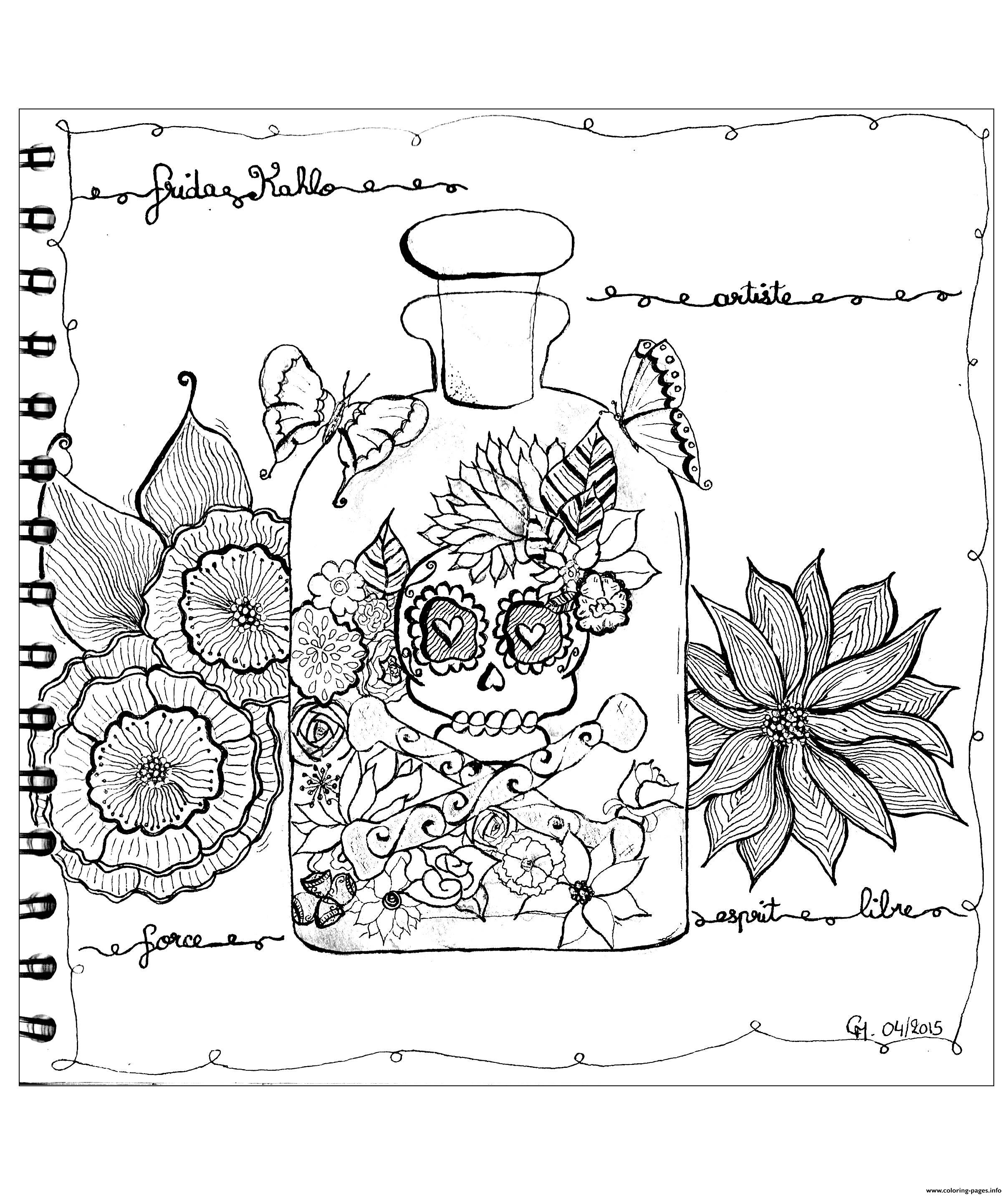 Adult Zentangle By Cathym 23 coloring pages