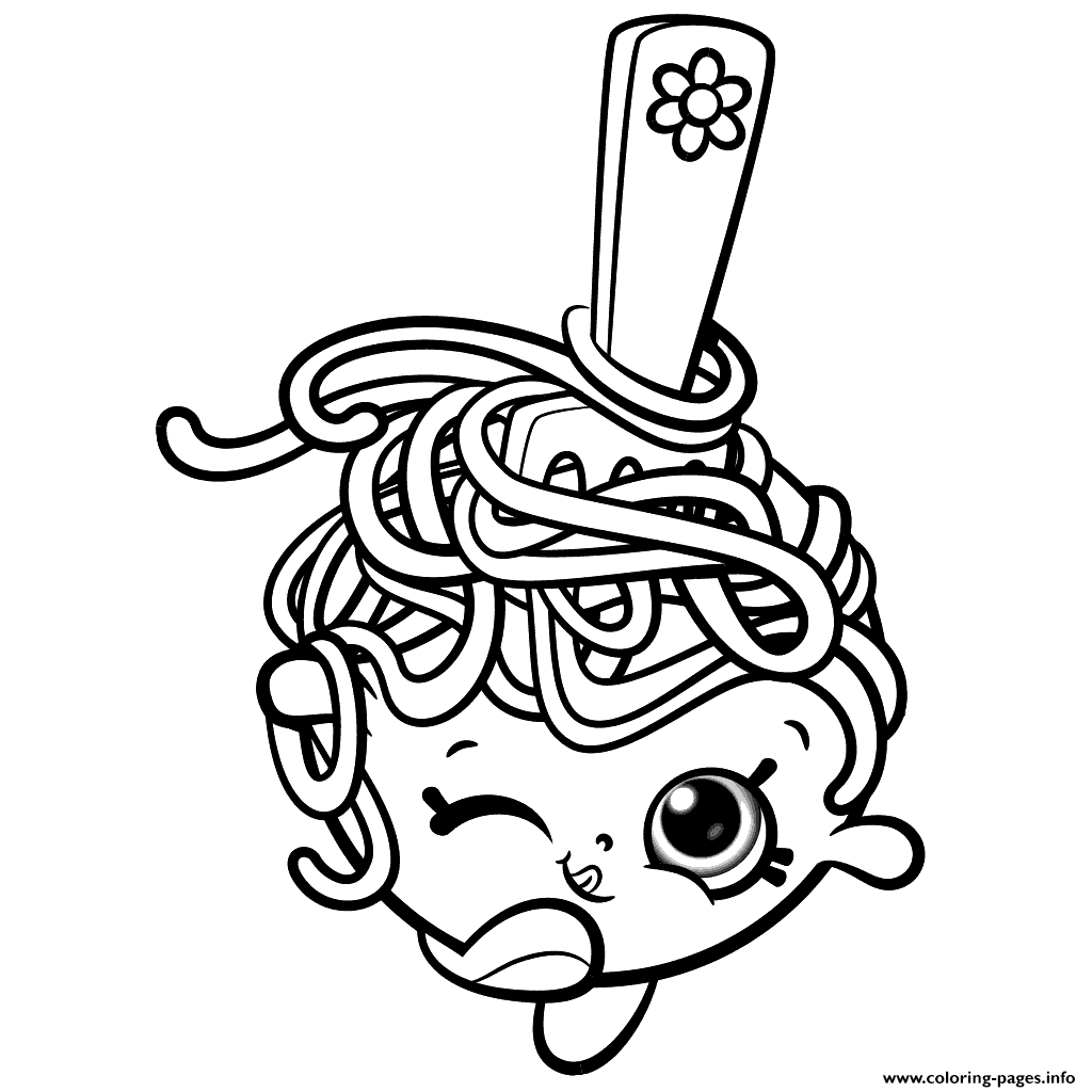 ... Season 8 Coloring Pages Printable . Shopkins ...