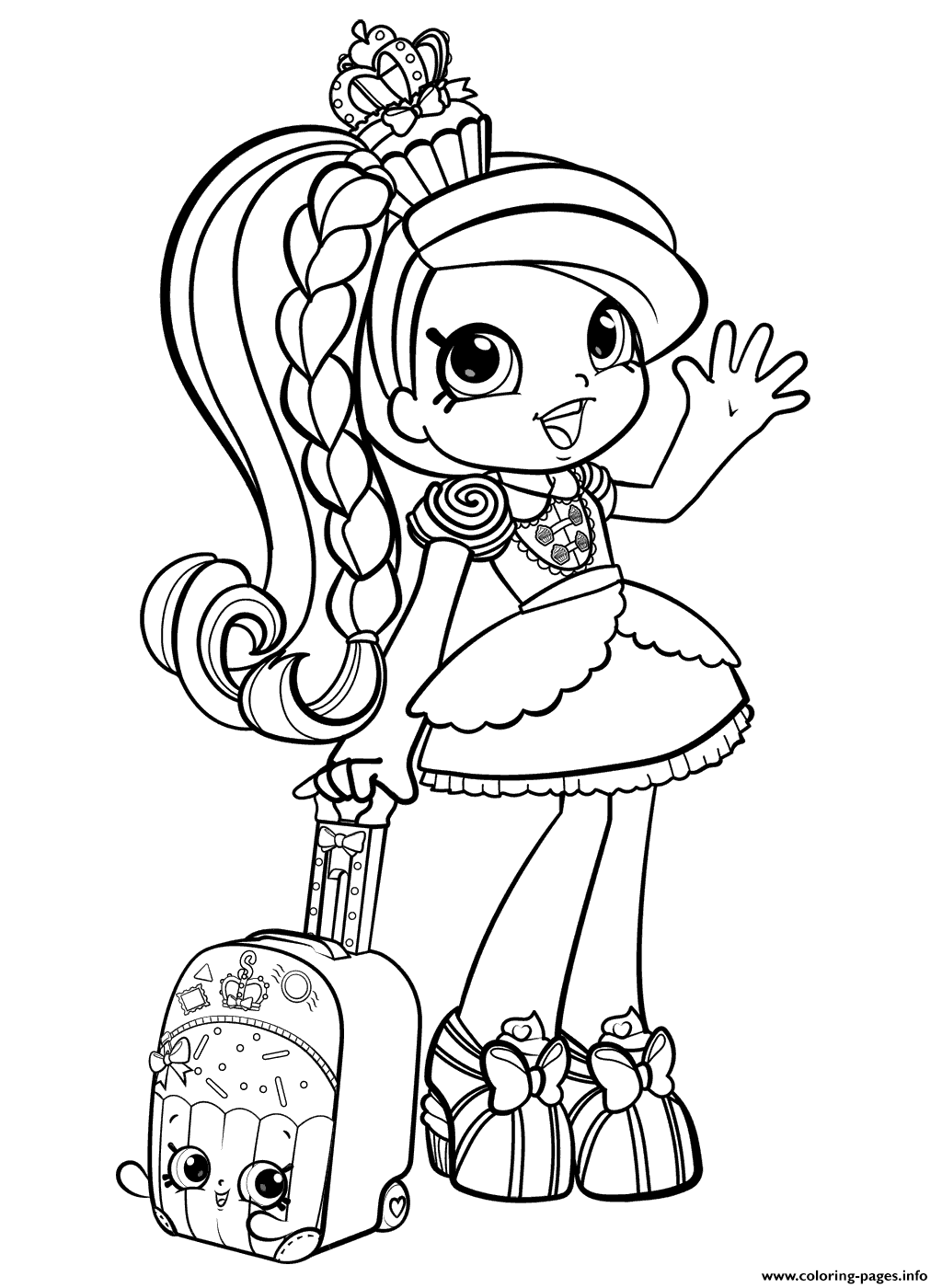 Shopkins Girl In World Vacation