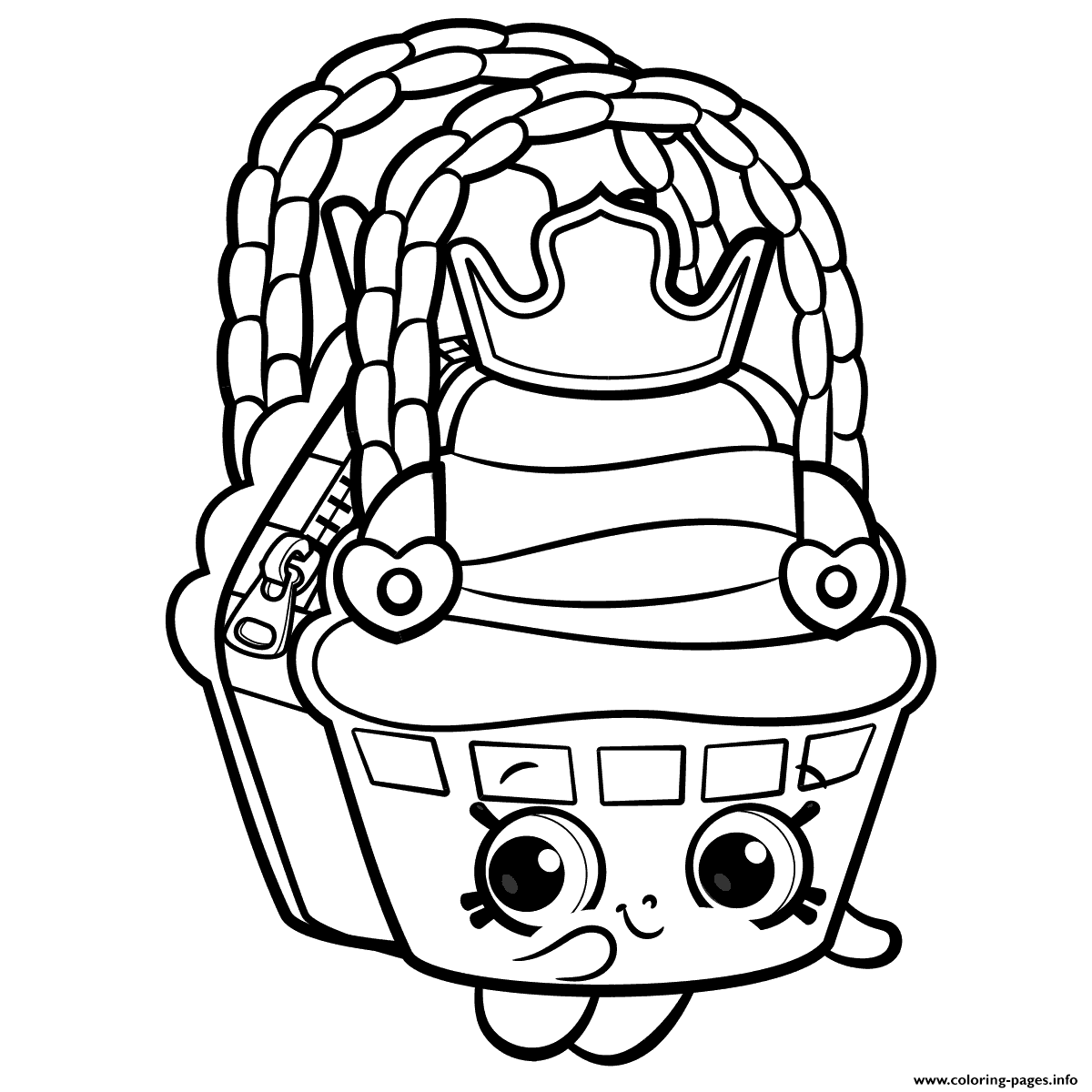 Shopkins coloring pages wishes - Cute Shopkins Season 8 Coloring Pages