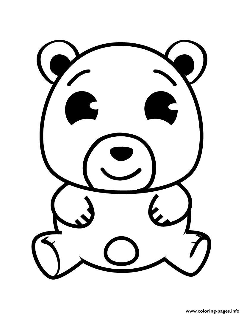 Bear Cute coloring pages
