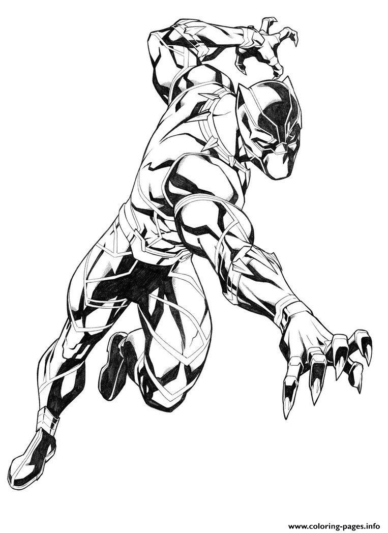 - Black Panther By Carlosgomezartist Coloring Pages Printable