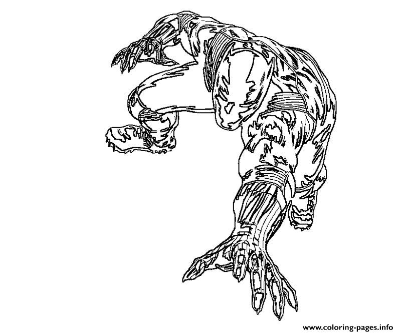 Black Panther Movie 2018 Coloring Pages Printable