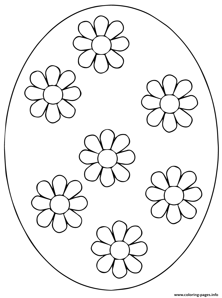 Ukrainian Easter Egg 4 coloring pages
