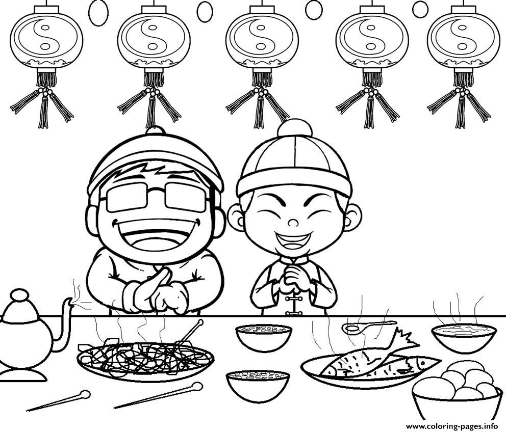Printable Chinese New Year Coloring Pages For Kids Coloring Pages ...