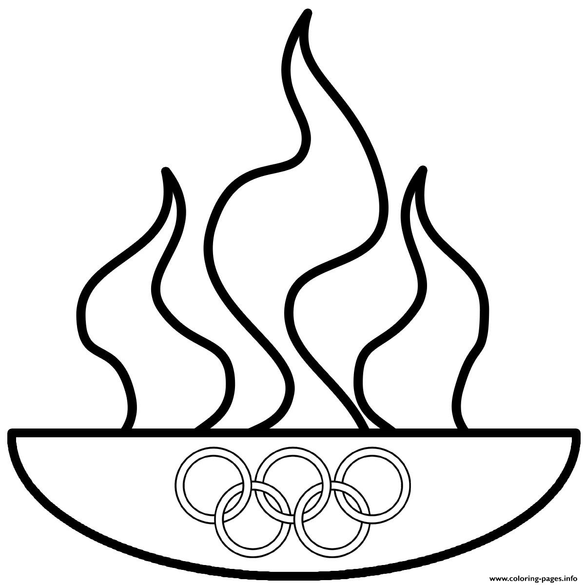commemorating the theft of fire olympics coloring pages