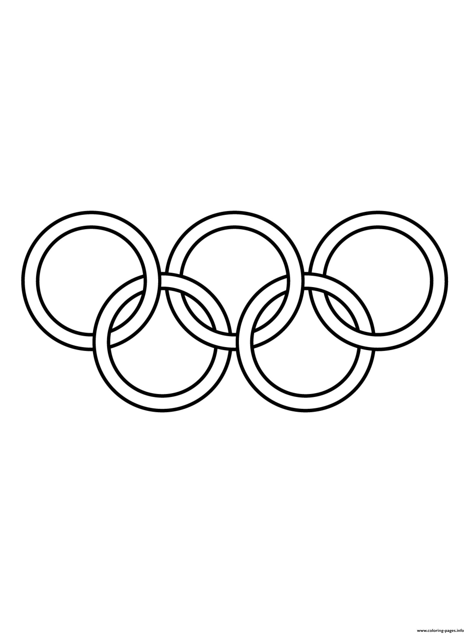Olympic Games Clipart Black And White coloring pages