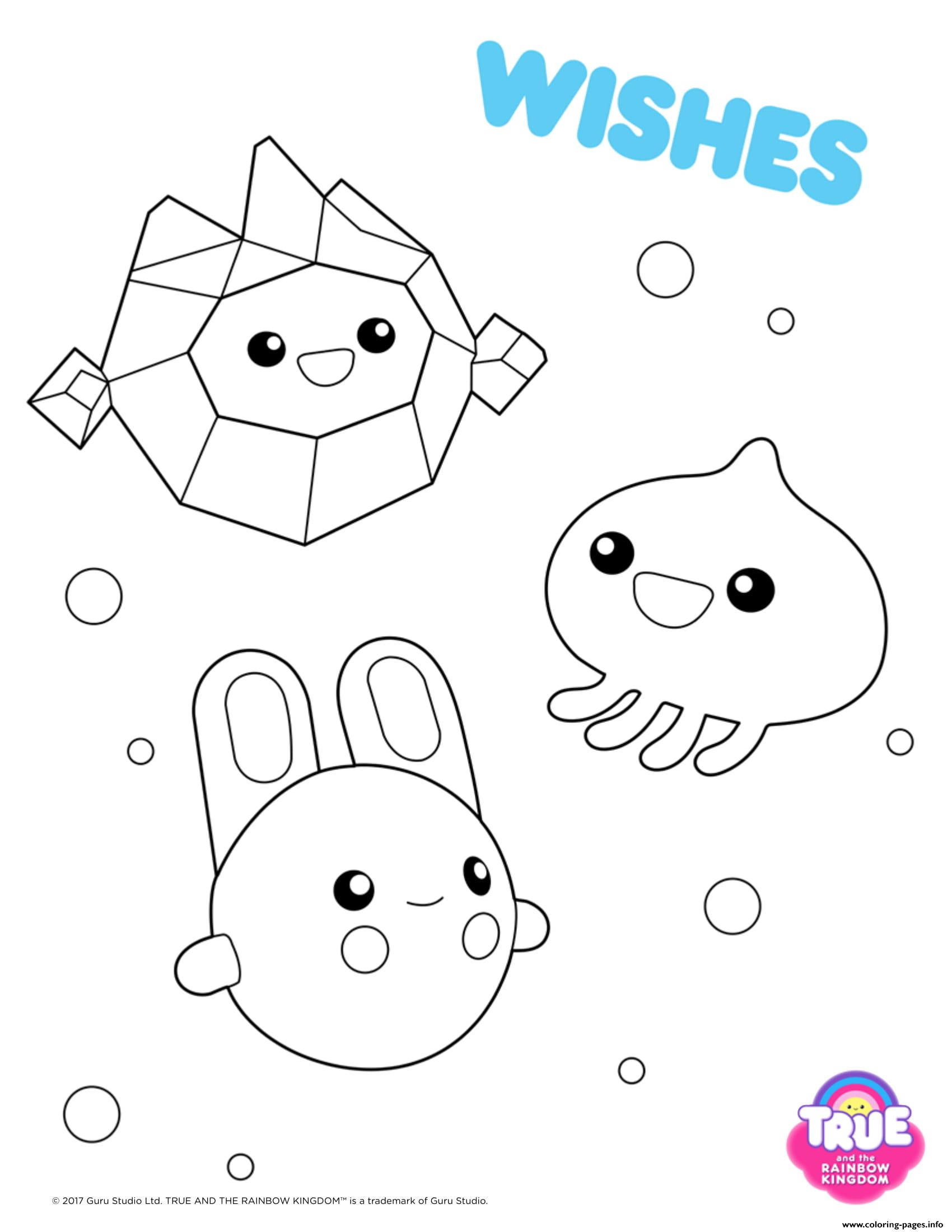 true and the rainbow kingdom coloring pages wishes 1 true and the rainbow kingdom coloring pages printable