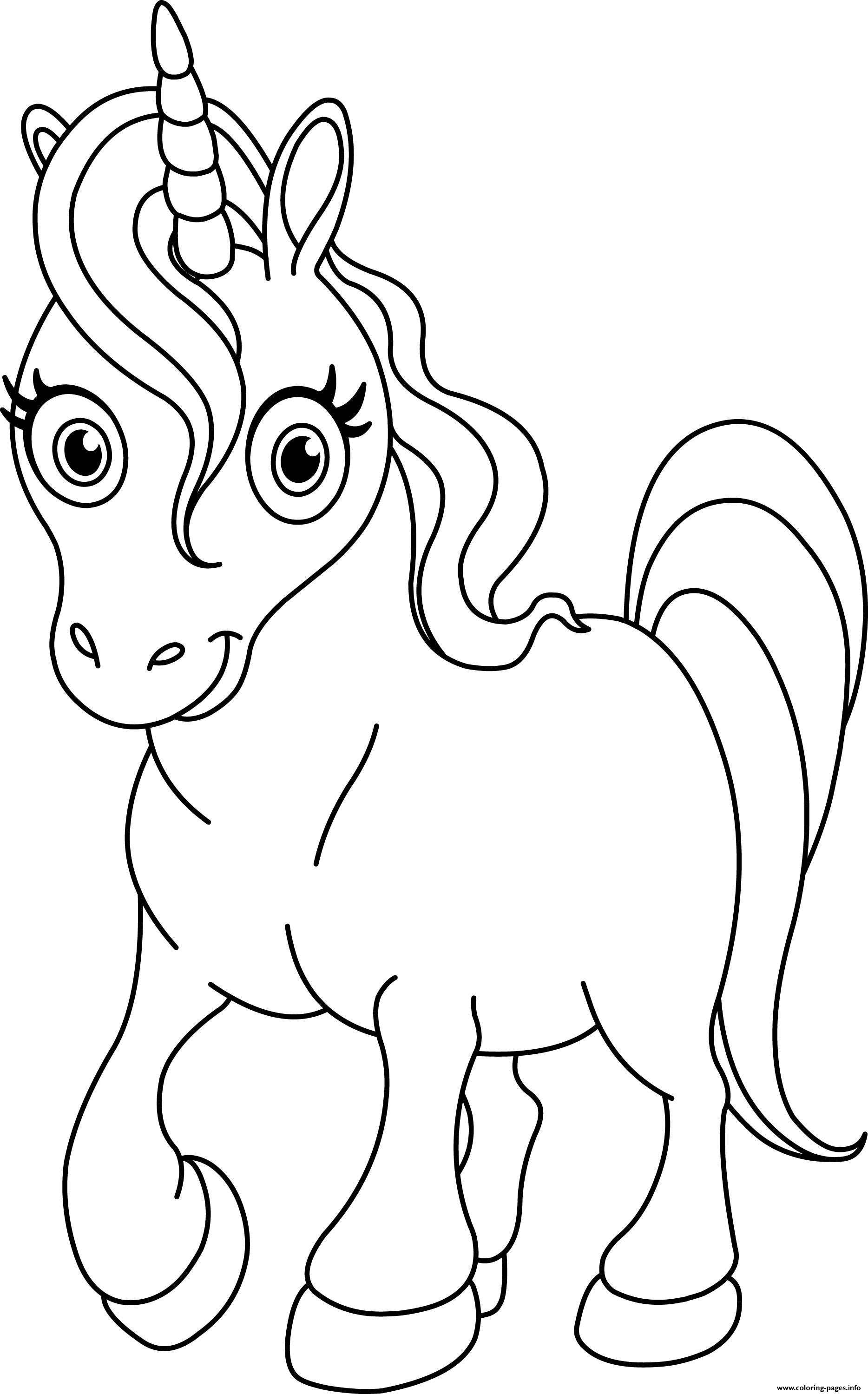 Top Unicorn Pictures To Print coloring pages