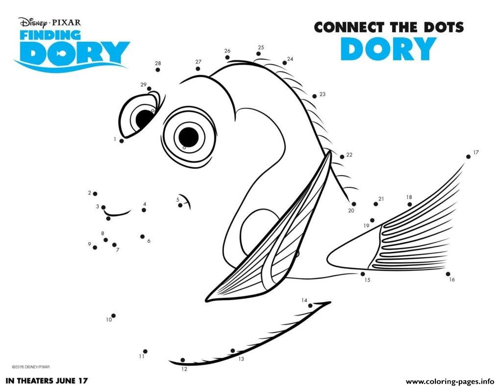 Finding Dory Movie Printables Kids Activity Sheets Coloring Pages ...