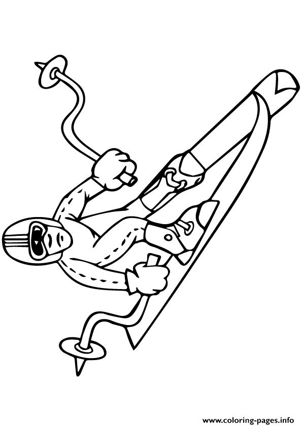 Winter Olympics Sports Olympic Games coloring pages