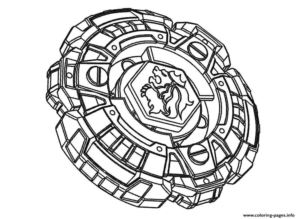 Beyblade 1 coloring pages