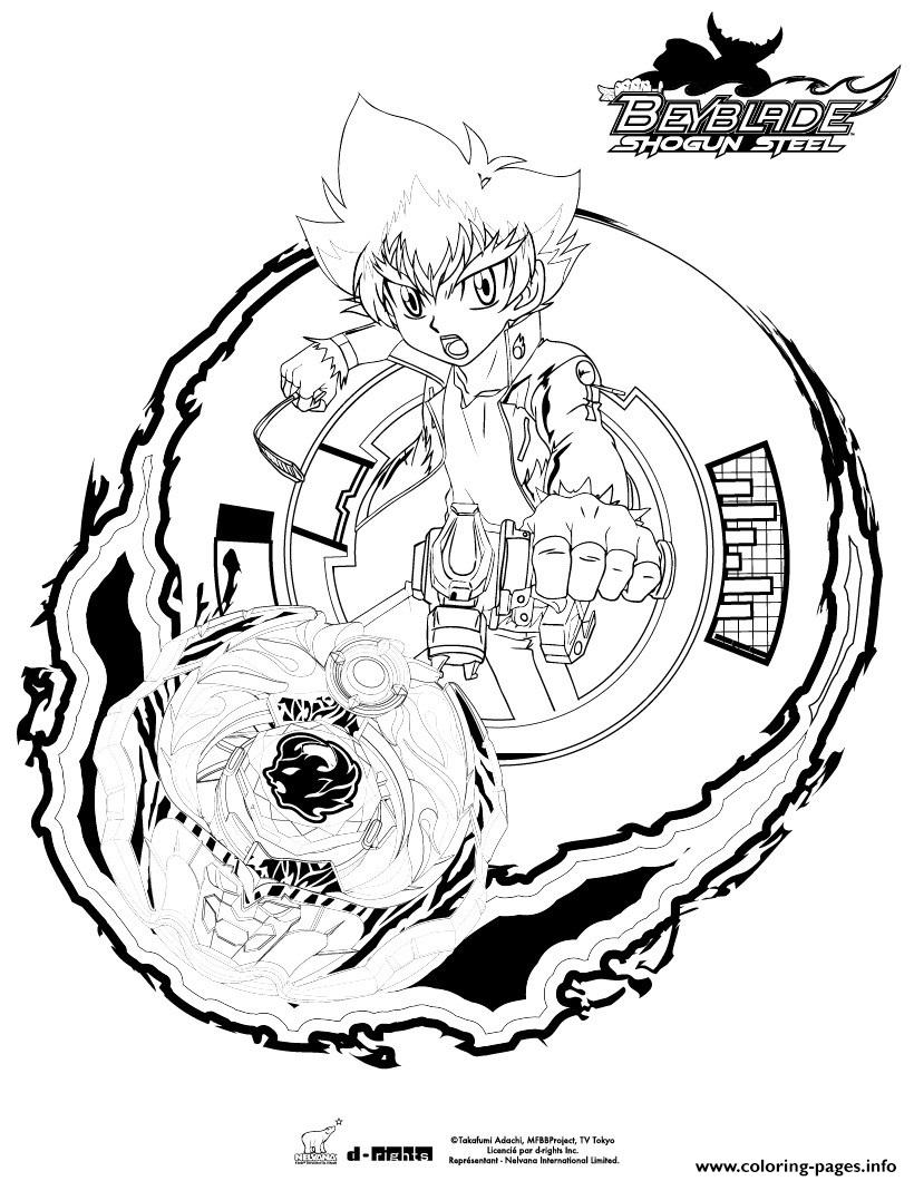 Beyblade 11 coloring pages