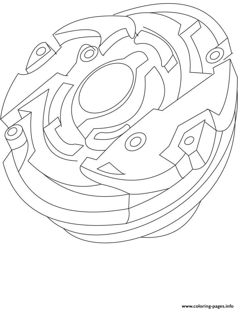 Beyblade 14 coloring pages