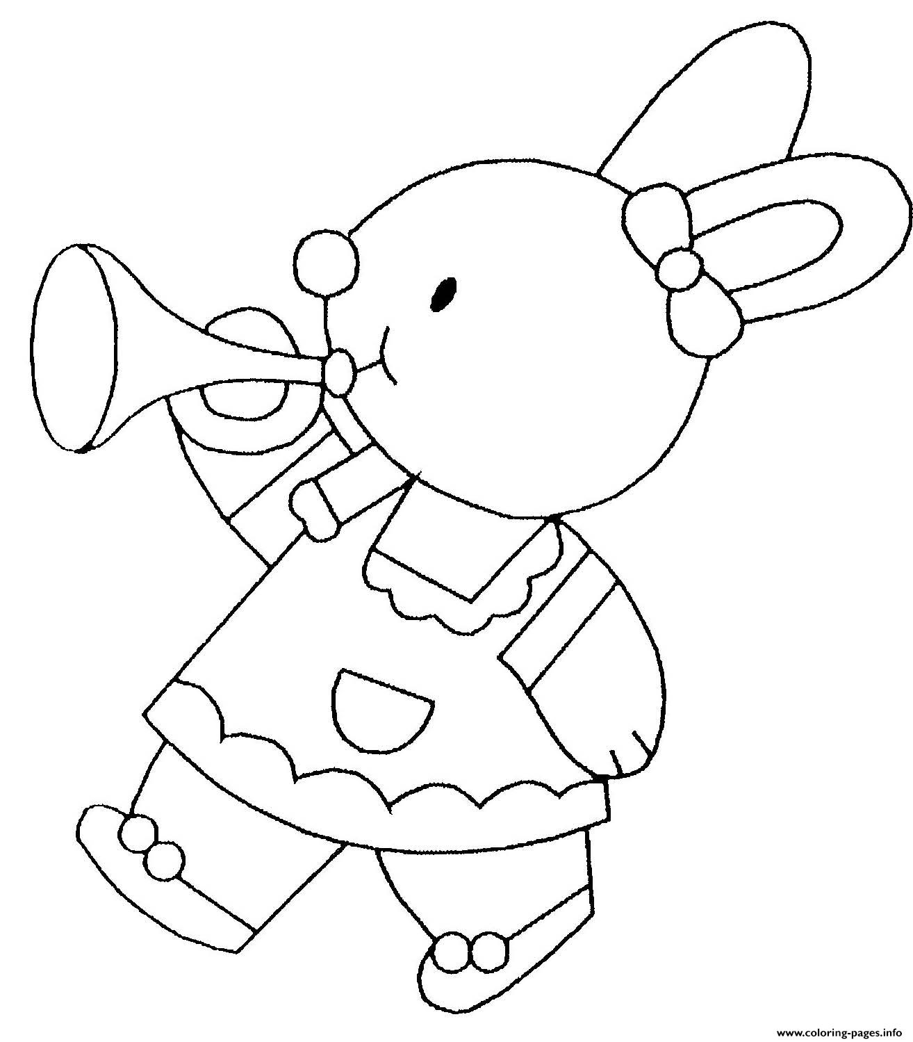 Easter Bunny Easter Bunnyot coloring pages
