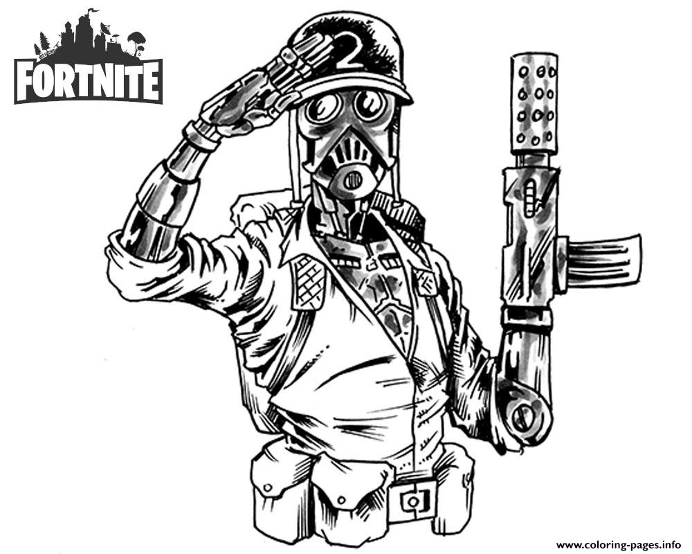 Fortnite Jason Young By Shonborn Coloring Pages Printable