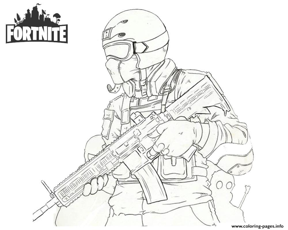 fortnite soldier coloring pages