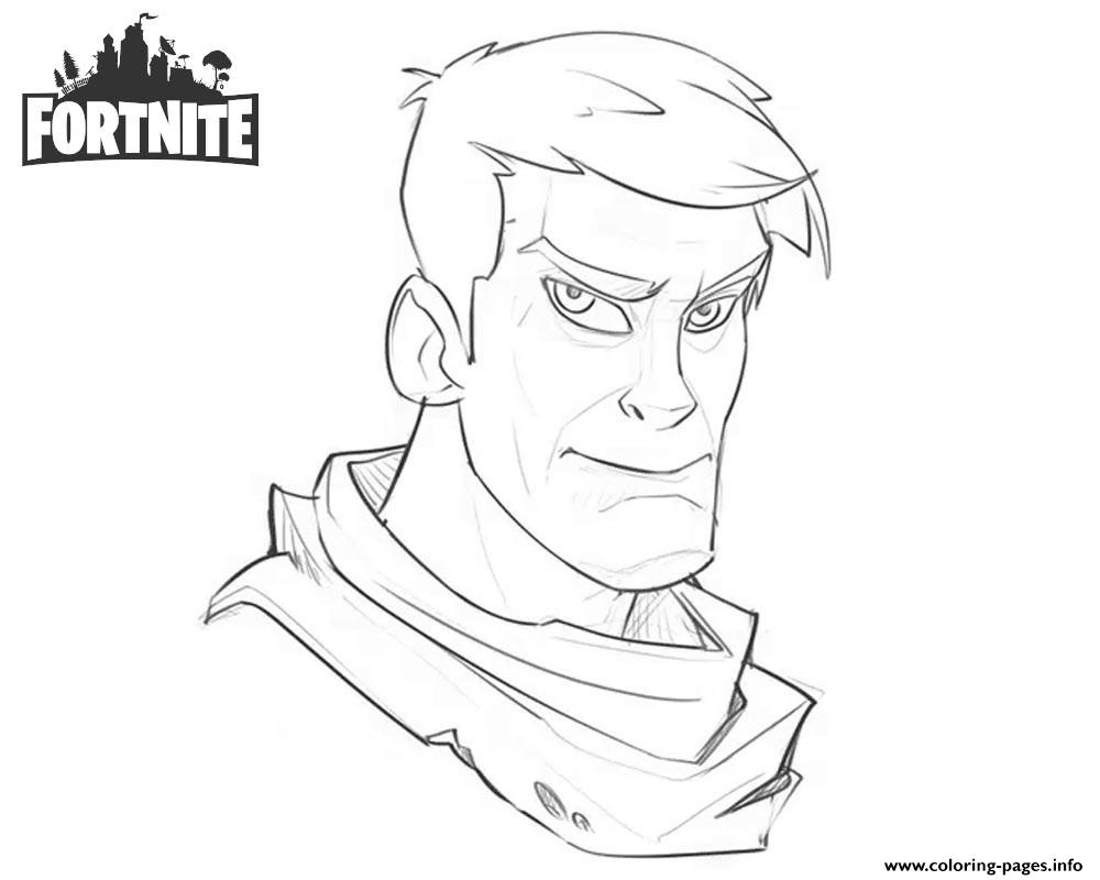 Fortnite Character Warmup Art Work By Josh Bruce On Artstation coloring pages