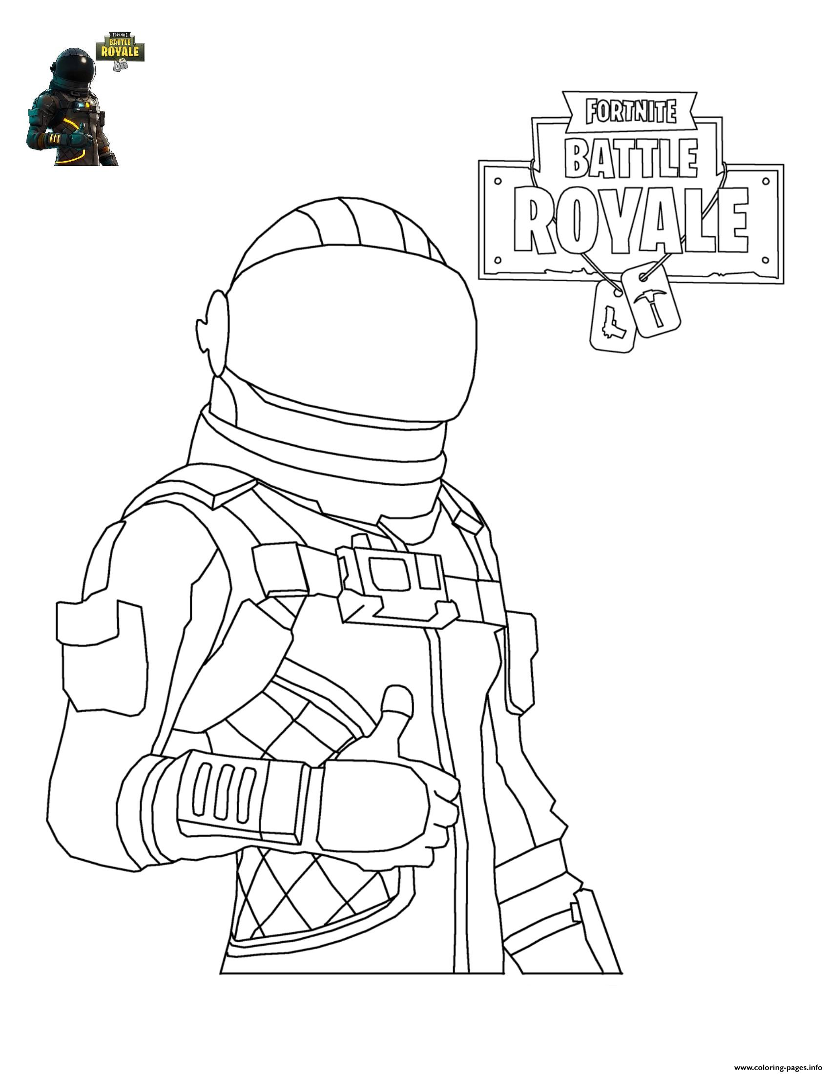 fortnite coloring pages printable Fortnite Character 4 Coloring Pages Printable fortnite coloring pages printable