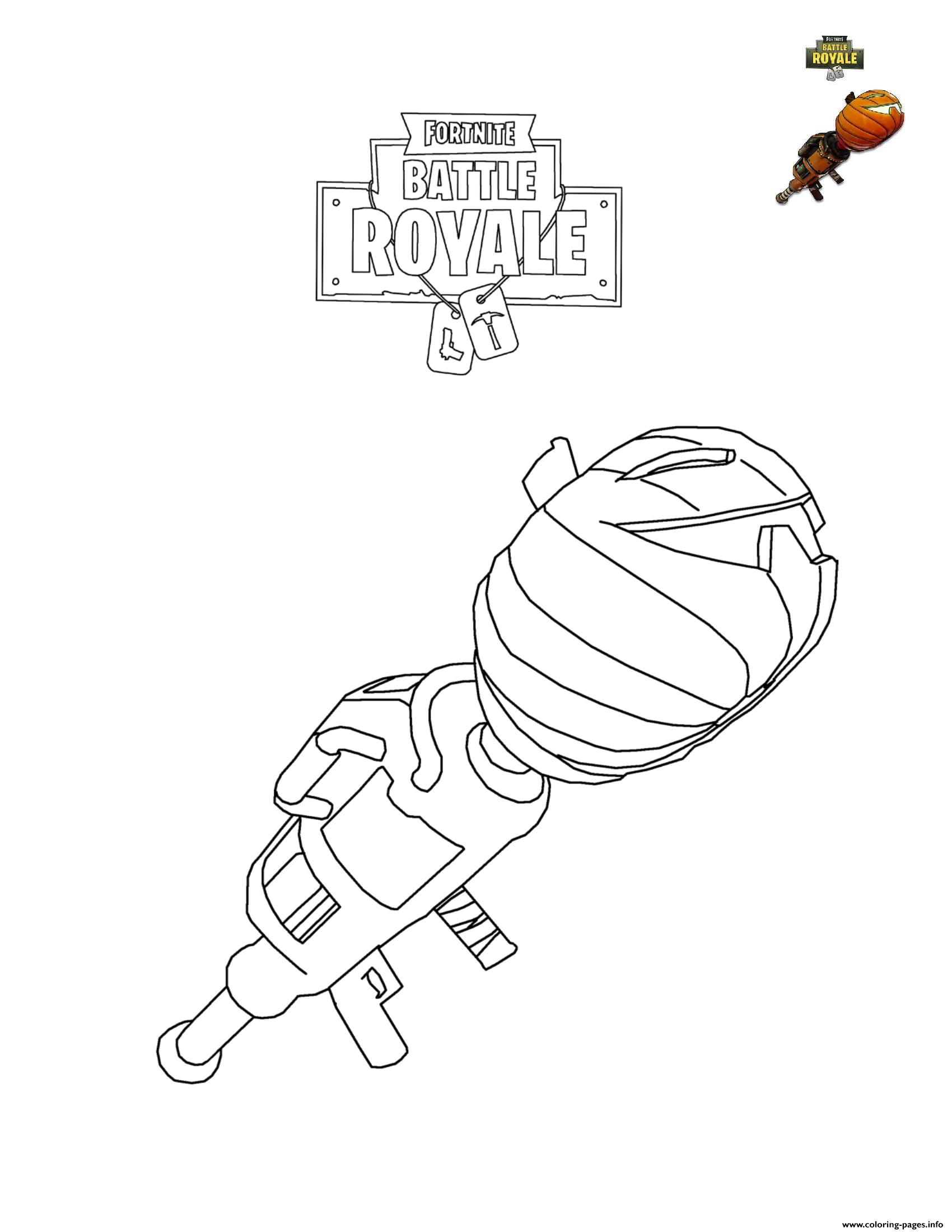 Pumpkin Launcher coloring pages