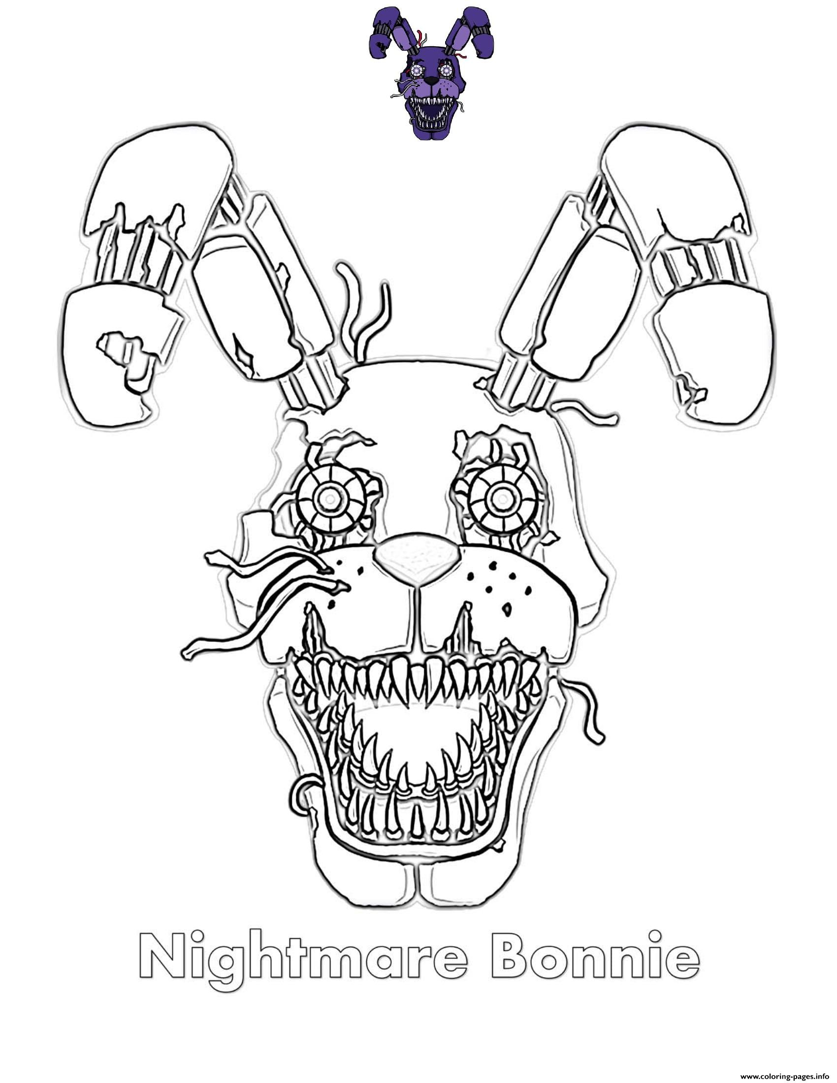 It's just an image of Five Nights at Freddy's Coloring Pages Printable with regard to pdf