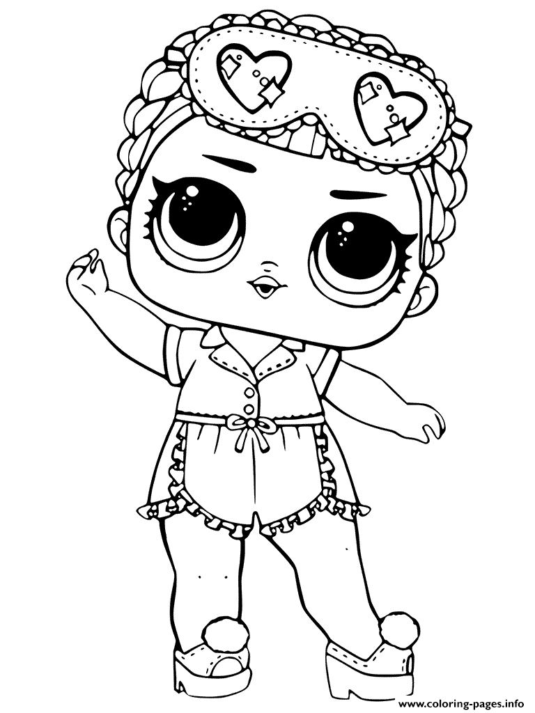 LOL Dolls Coloring Pages Printable
