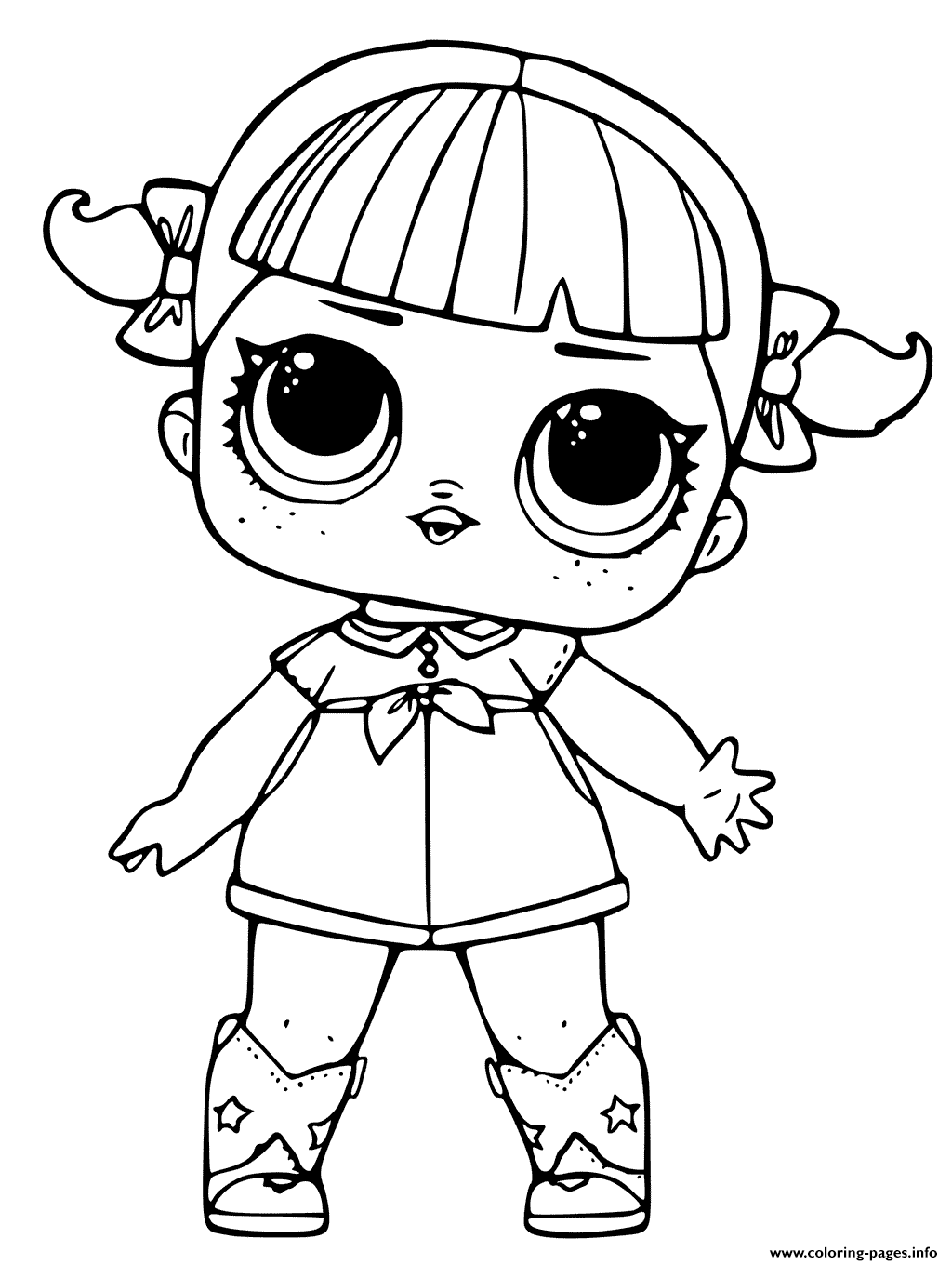 lol surprise dolls coloring pages printable