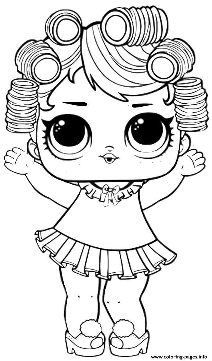 Baby Doll Lol Surprise Dollz Coloring Pages Printable