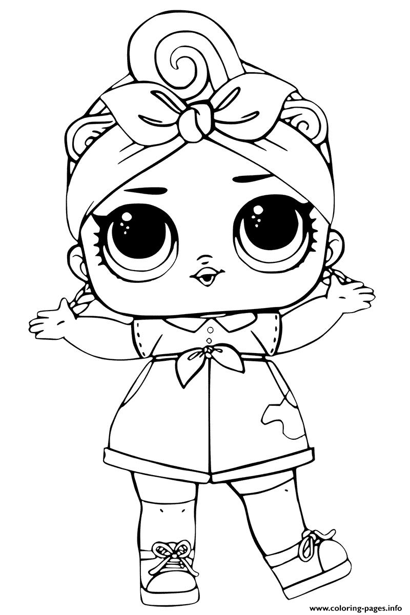 Can Do LOL Surprise Series 3 Baby coloring pages