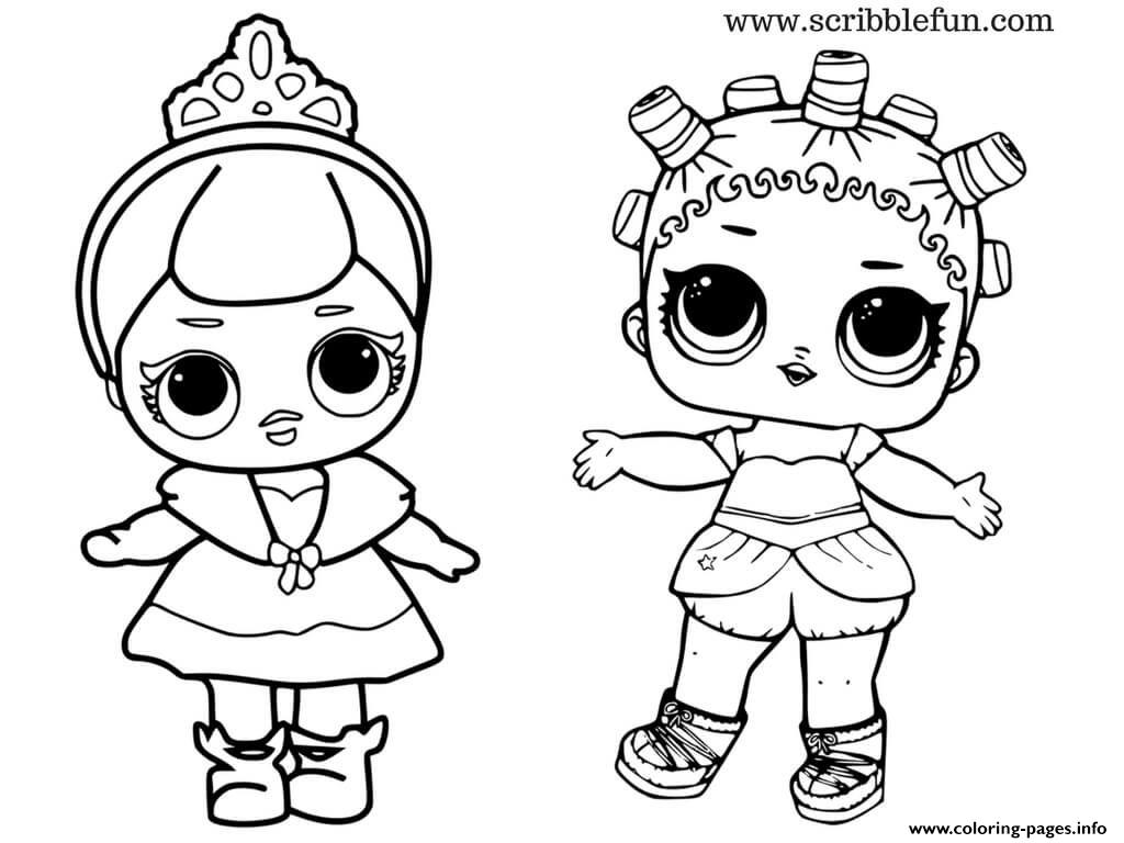 photograph regarding Lol Doll Printable named Lol Dolls Lovely Youngster Princess Coloring Internet pages Printable