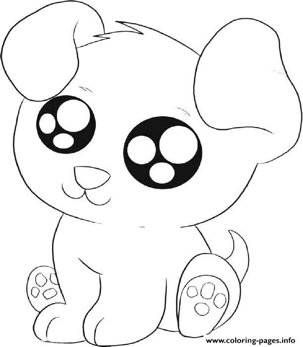 Puppy Kid Print Coloring Pages Printable