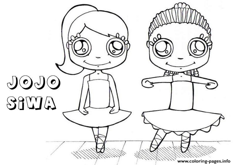 Jojo Siwa Dance Coloring Pages Printable