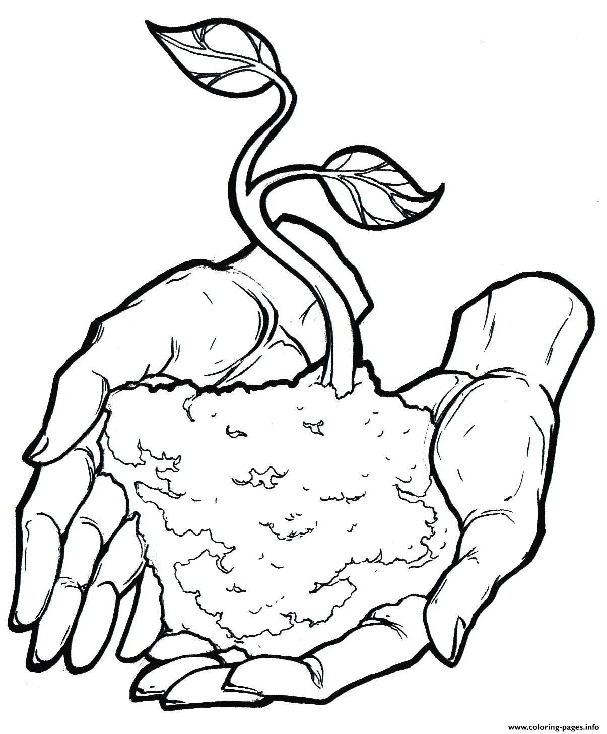 Happy Earth Day 2 Coloring Pages Printable