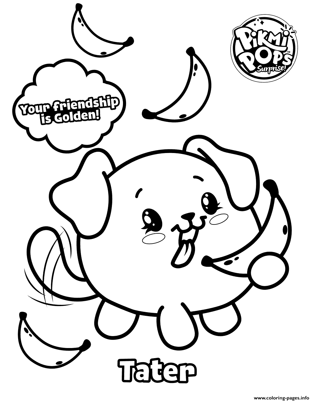 Pikmi Pops Moose Toys Printable Coloring Pages Book 20231 on Minecraft Coloring Pages