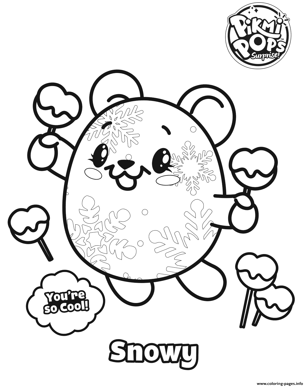 Pikmi Popss Coloring Pages Printable