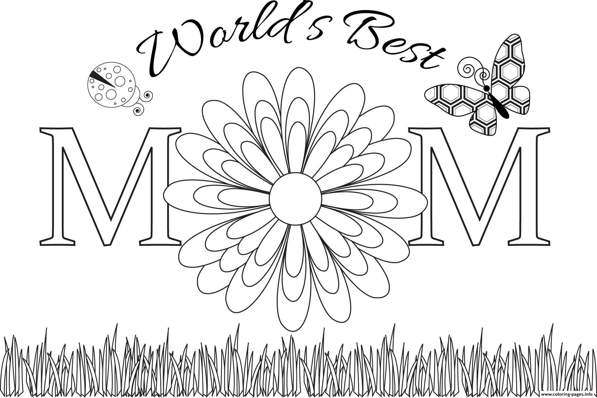 Best Mom Ever Coloring Sheets Mothers Day Coloring Day Pages Best Of