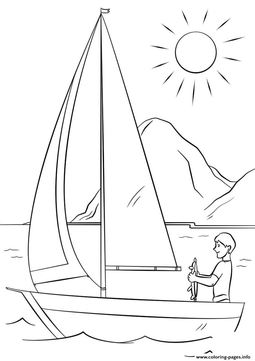 Have A Great Summer By Lena London coloring pages