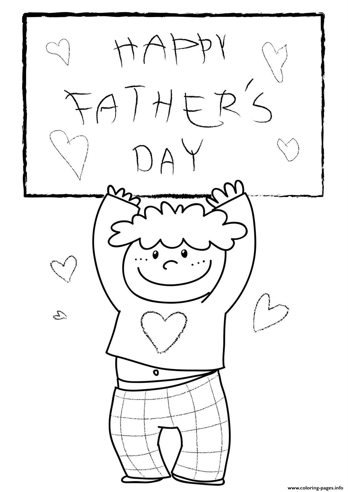 Growth Fathers Day Love Happy coloring pages
