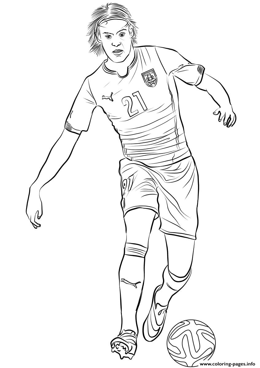 edinson cavani fifa world cup football coloring pages
